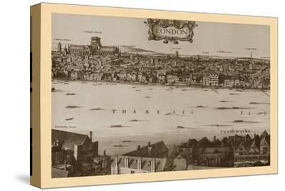 London, 1647, (1886)-Unknown-Stretched Canvas Print