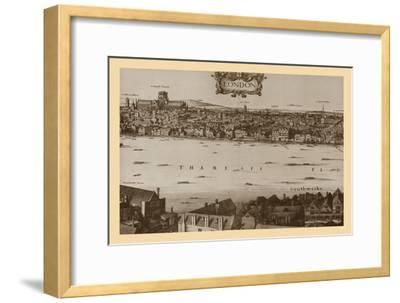 London, 1647, (1886)-Unknown-Framed Giclee Print