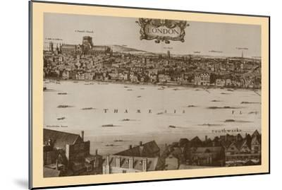 London, 1647, (1886)-Unknown-Mounted Giclee Print