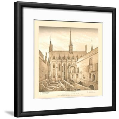 Guildhall North Side, 1882-83, (1886)-Unknown-Framed Giclee Print