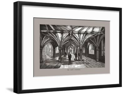 The Guild-Hall Crypt, 1886-Unknown-Framed Giclee Print