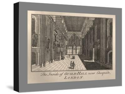 Guild Hall Interior, 1886-Unknown-Stretched Canvas Print