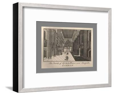 Guild Hall Interior, 1886-Unknown-Framed Giclee Print