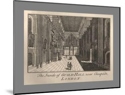 Guild Hall Interior, 1886-Unknown-Mounted Giclee Print