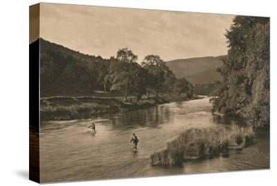 'On the Tweed near Innerleithen', 1902-Unknown-Stretched Canvas Print