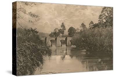 'Bridge at Limplet Stoke on the Lower Avon', 1902-Unknown-Stretched Canvas Print