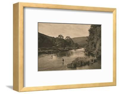 'On the Tweed near Innerleithen', 1902-Unknown-Framed Photographic Print