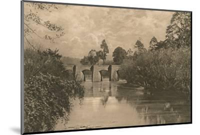 'Bridge at Limplet Stoke on the Lower Avon', 1902-Unknown-Mounted Photographic Print