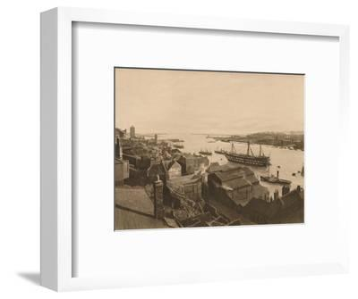 'The Mouth of the Tyne', 1902-Unknown-Framed Photographic Print