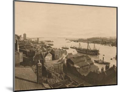 'The Mouth of the Tyne', 1902-Unknown-Mounted Photographic Print