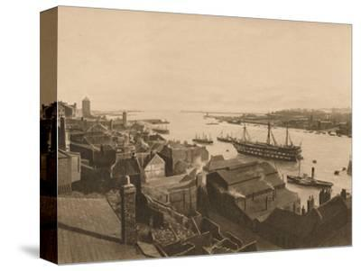 'The Mouth of the Tyne', 1902-Unknown-Stretched Canvas Print