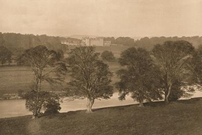'Floors Castle, from the Soth Bank of the Tweed', 1902-Unknown-Framed Photographic Print