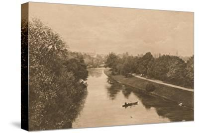 'The Leam at Leamington', 1902-Unknown-Stretched Canvas Print