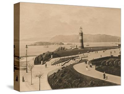 'Plymouth Hoe and Sound and Mouth of the Tamar', 1902-Unknown-Stretched Canvas Print