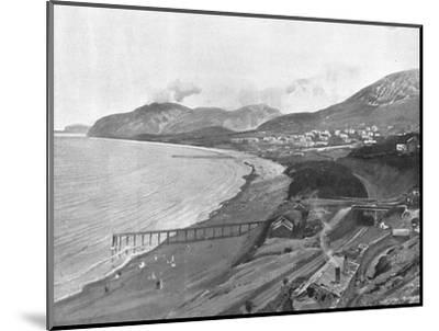 Penmaenmawr, c1900-Unknown-Mounted Photographic Print