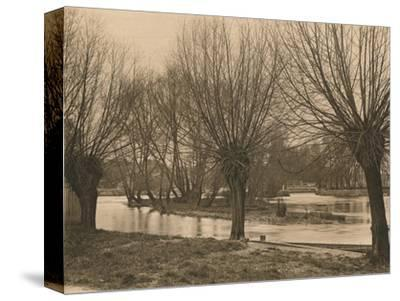 'Pangbourne Weir', 1902-Unknown-Stretched Canvas Print
