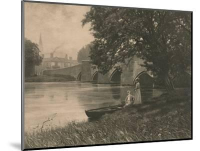 'Bakewell Bride', 1902-Unknown-Mounted Photographic Print