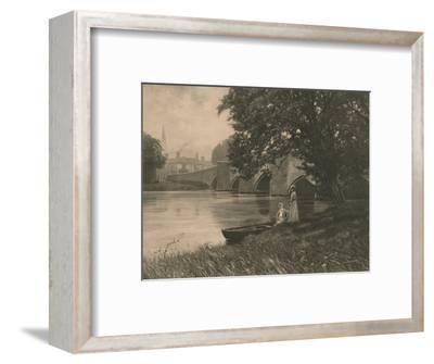 'Bakewell Bride', 1902-Unknown-Framed Photographic Print