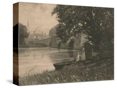 'Bakewell Bride', 1902-Unknown-Stretched Canvas Print
