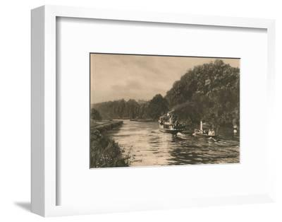 'Cliefden Reach', 1902-Unknown-Framed Photographic Print
