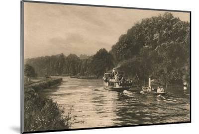 'Cliefden Reach', 1902-Unknown-Mounted Photographic Print