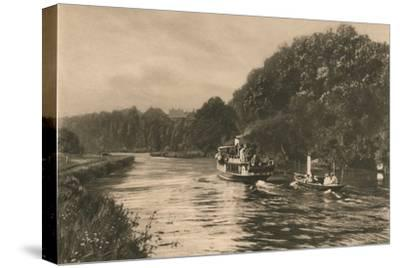 'Cliefden Reach', 1902-Unknown-Stretched Canvas Print