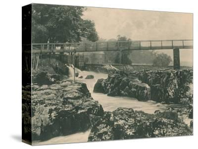 'Falls of the Wharfe', 1902-Unknown-Stretched Canvas Print