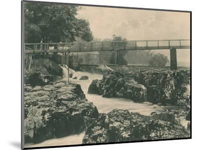 'Falls of the Wharfe', 1902-Unknown-Mounted Photographic Print