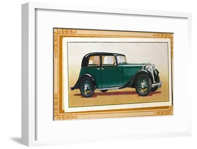 'Armstrong-Siddeley 17 Saloon', c1936-Unknown-Framed Giclee Print