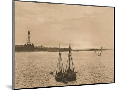 'The Mersey at New Brighton', 1902-Unknown-Mounted Photographic Print
