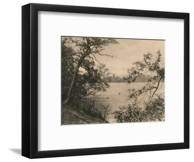 'Trentham Hall', 1902-Unknown-Framed Photographic Print