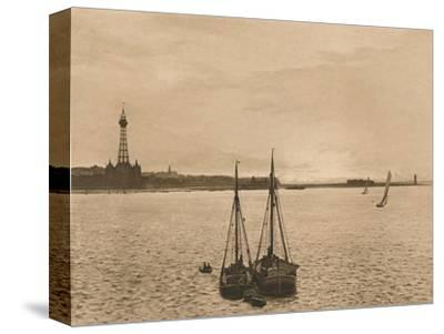 'The Mersey at New Brighton', 1902-Unknown-Stretched Canvas Print