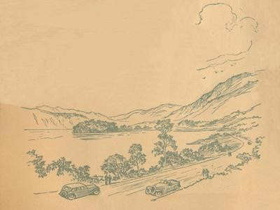 'Loch Lomond', c1936-Unknown-Framed Giclee Print