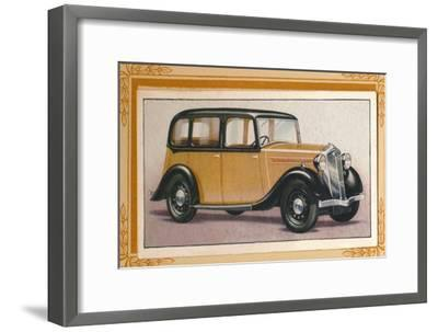 'Wolseley Wasp', c1936-Unknown-Framed Giclee Print