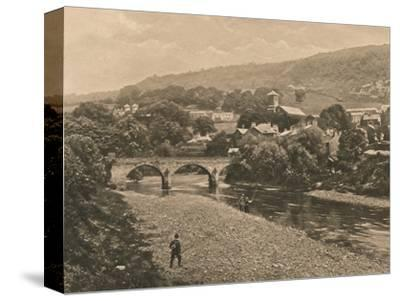 'The Taff at Treforest, near Pontypridd', 1902-Unknown-Stretched Canvas Print