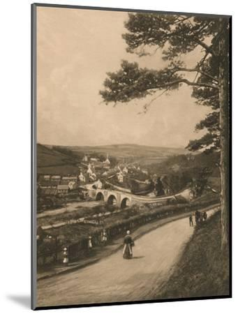 'The Clyde at Kirkfieldbank, from the Braes near Lanark', 1902-Unknown-Mounted Photographic Print