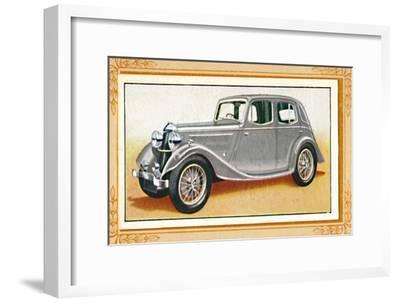 'Riley 1 1/2-Litre Falcon Saloon', c1936-Unknown-Framed Giclee Print