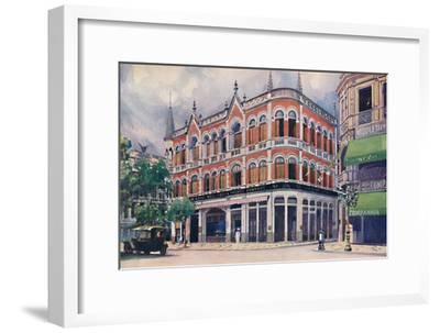 'The Royal Mail Steam Packet Company's Offices, Avenida Rio Branco.', 1914-Unknown-Framed Giclee Print