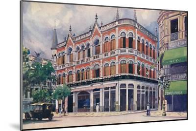 'The Royal Mail Steam Packet Company's Offices, Avenida Rio Branco.', 1914-Unknown-Mounted Giclee Print