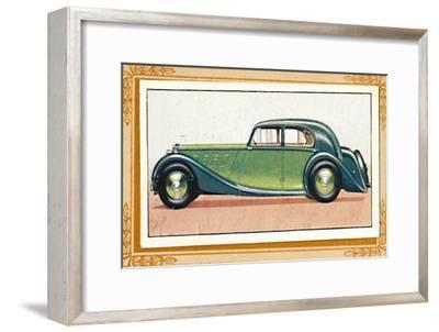 'M.G. Two-Litre Saloon', c1936-Unknown-Framed Giclee Print