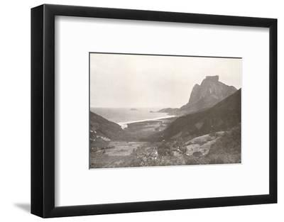 'Gavea Mountain and the South Atlantic', 1914-Unknown-Framed Photographic Print