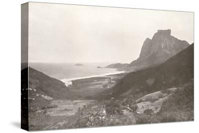 'Gavea Mountain and the South Atlantic', 1914-Unknown-Stretched Canvas Print