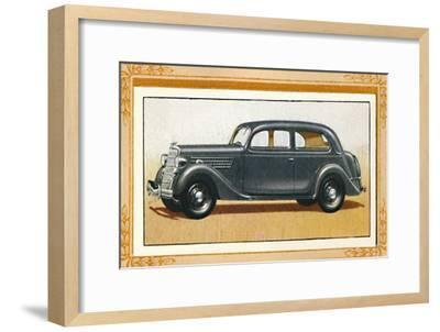 Ford V-Eight 22 Touring Saloon', c1936-Unknown-Framed Giclee Print