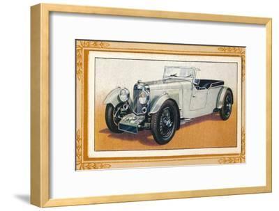 'Aston Martin Four-Seater Tourer', c1936-Unknown-Framed Giclee Print