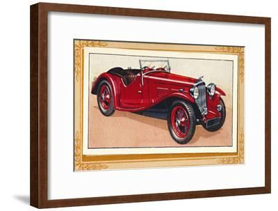 'A.C. Sports Two-Seater', c1936-Unknown-Framed Giclee Print