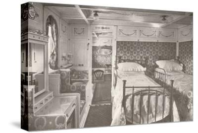 A Home on the Rolling Deep. Aboard a Royal Mail.', 1914-Unknown-Stretched Canvas Print
