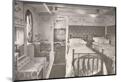 A Home on the Rolling Deep. Aboard a Royal Mail.', 1914-Unknown-Mounted Photographic Print