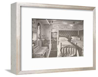 A Home on the Rolling Deep. Aboard a Royal Mail.', 1914-Unknown-Framed Photographic Print