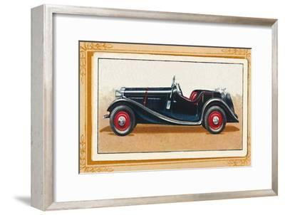 'British Salmson 20-90 Sports Two-Seater', c1936-Unknown-Framed Giclee Print