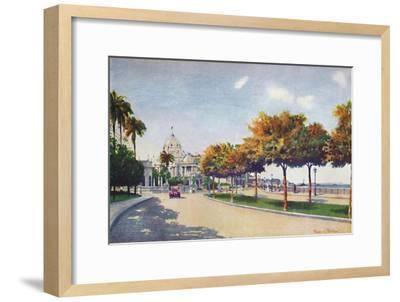 'The Beautiful Beira Mar Drive - approaching the Magnificent Monroe Palace', 1914-Unknown-Framed Giclee Print